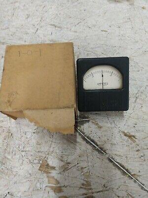 Vintage Westinghouse Electrical Panel Meter Gauge 1-0-1 Milliamperes Dc