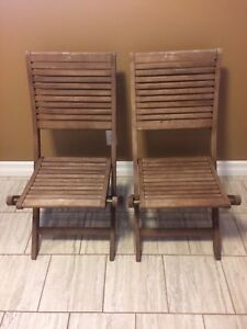 Real Wood Folding Chairs