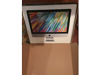 """CLEAN EMPTY BOX for 21.5"""" APPLE iMac Includes Styrofoam Inserts"""