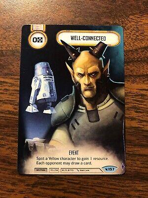 Well-Connected Star Wars: Destiny Full Art Promo Legacies #157