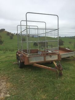 Tandem Trailer and Stockcrate