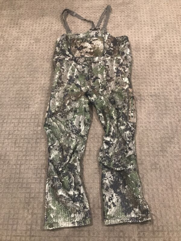 Sitka Stratus Bibs- EV1(Elevated Forest) - Large Tall; Nice!! FREE SHIPPING!