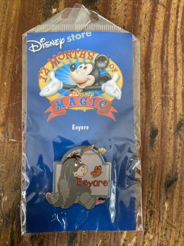 Disney Store Pin - 12 Months of Magic - Eeyore - Winnie the Pooh