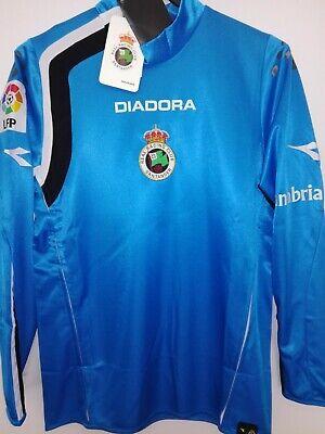 RACING DE SANTANDER 2004-2005 BNWT Goalkeeper camiseta shirt trikot diadora