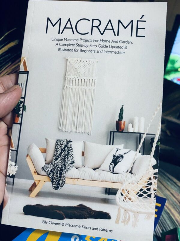 MACRAME Unique Projects —-new Book