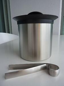 Avanti Insulated Stainless Steel Ice Bucket with lid and tongs Brisbane City Brisbane North West Preview