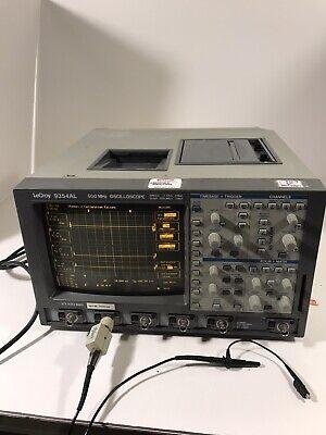 Lecroy 9354al Oscilloscope Digital 500mhz2gsas4ch Grey
