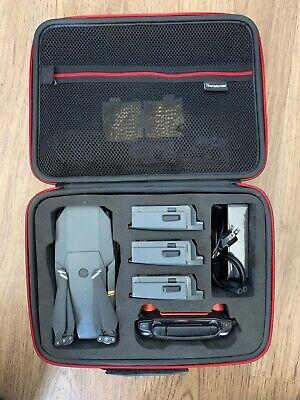 DJI MAVIC PRO QUADCOPTER Pack PACKAGE 5 BATTERIES SUPER CHARGER HARD FOAM CASE