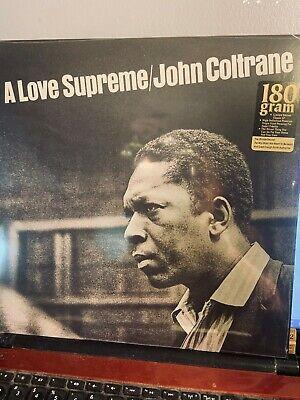 JOHN COLTRANE -A LOVE SUPREME  (SEALED 180 GRAM VINYL REISSUE) - LP