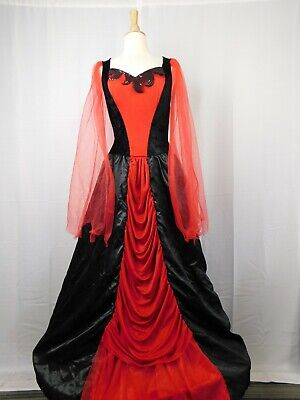 Devil Queen Women's Hoop-Skirt Halloween Costume Dress - Adult One Size #6959](Hoop Skirt Halloween Costumes)