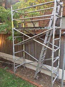 Mobile Scaffold/steel tube/tools FOR SALE Parramatta Parramatta Area Preview