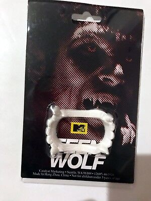 Teen Wolf Fake Vampire Teeth Fangs Promo SDCC Comic Con MTV - Halloween Wolf Teeth