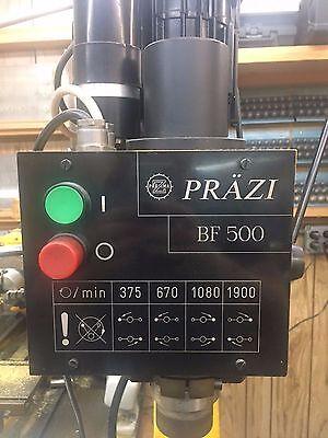 Prazi Bf 500 Milling Machine