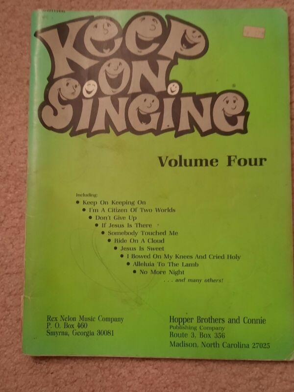 Keep On Singing Piano Sheet Music Book