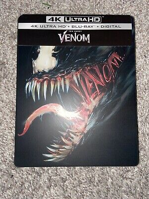 Marvel Venom 4K Ultra HD Blu Ray Best Buy Exclusive Steelbook *NO