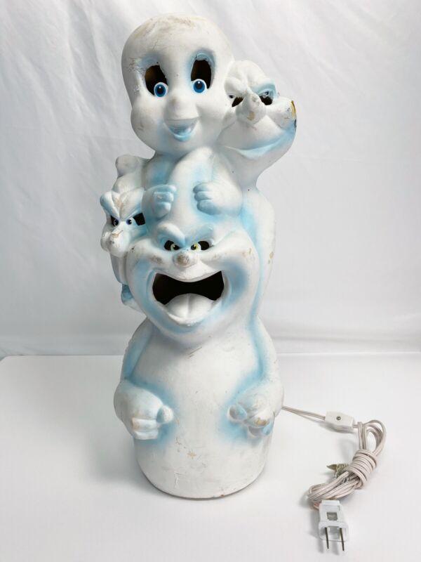 Casper Friendly Ghost Light Up Blow Mold Trendmasters 1995 Vintage Halloween
