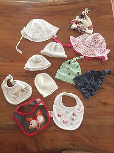 Bonnets Bavoir bébé