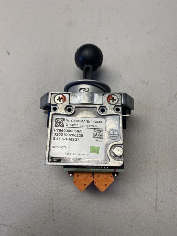 W.GESSMANN D-74211 CONTROL STICK ( S41-5-1-MS37 )