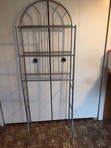 Rack/étagère pour au dessus de la toilette