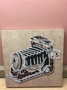 Brand-new photography on canvas