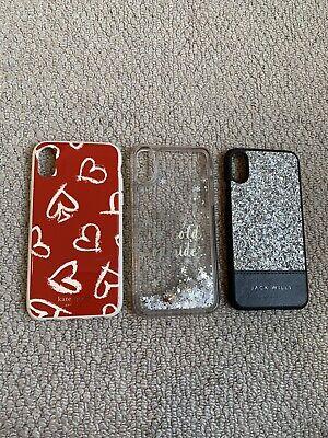 ❤️ Kate Spade & Jack Wills Iphone X/XS IPhone Case Bundle ❤️
