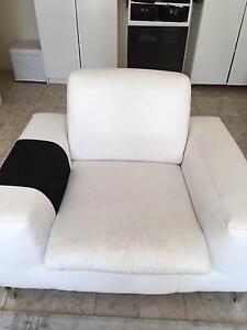 White sofa, 3 seater and 1.5 sofa Kensington Eastern Suburbs Preview