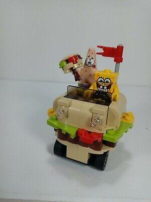 LEGO Spongebob Patrick 3833 Krusty Krab Adventure Car and Minifigures Lot