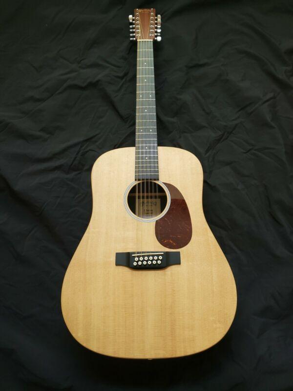 martin 12 string acoustic guitar
