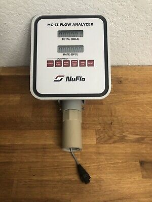 Nuflo Mc-ii Flow Analyzer