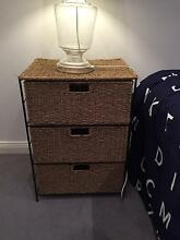 Wicker rattan drawers Mosman Mosman Area Preview