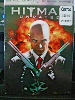 Hitman (DVD, 2008, 2-Disc Set, Unrated Special Edition) WORLD SHIP AVAIL