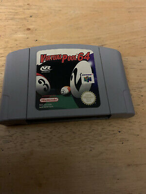 Virtual Pool 64 N64 Nintendo 64