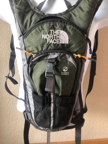 The North Face DOGFISH Flight Series Nalgene Hydration Backpack~Army Green~