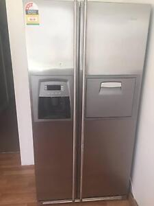 SMEG Stainless Steel freezer fridge with ice and water dispenser Bondi Junction Eastern Suburbs Preview