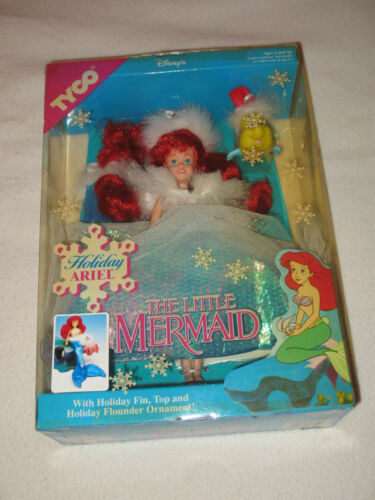 """""""Holiday Ariel The Little Mermaid Doll"""" Special Edition/Brand New/Tyco/Disney"""