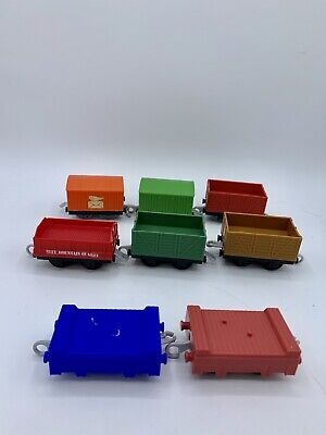 Thomas & Friends Trackmaster For Motorized Sets Empty Cargo Cars Mail Mining Lot
