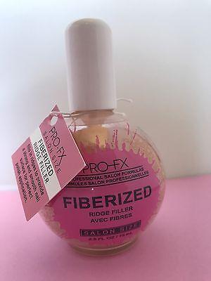 Pro FX Nail Treatment #060 FIBERIZED RIDGE FILLER 2.5oz Salon Formula NEW