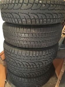 "SUNDAY SPECIAL $300!!! 18"" studded tires Cheap Today!!!"