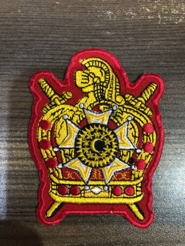 BRAND NEW DEMOLAY PATCH 2 INCHES, MASONIC DEMOLAY PATCH, MASONIC PATCH 2 inches