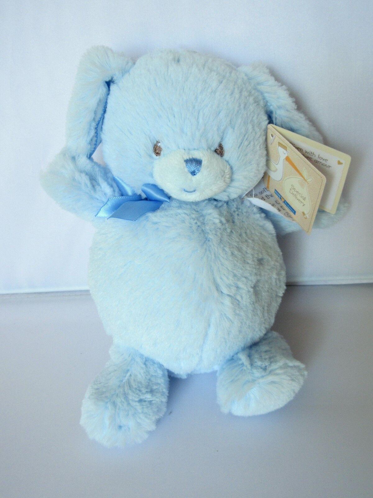 Kids Preferred Baby Blue Dog Plush Doll Stuffed Animal Toy S