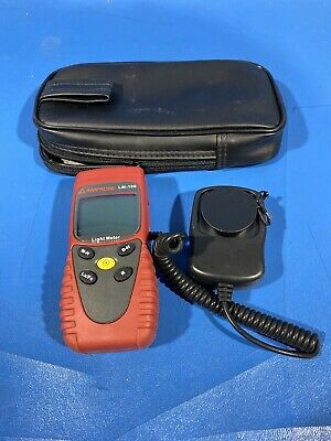 Amprobe Lm-100 Light Meter With Case