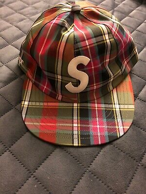 edc803f7aa97aa Supreme SS19 Gore Tex S Logo 6 Panel Plaid IN HAND READY TO SHIP!