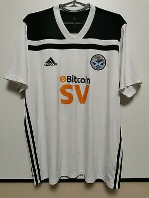 SIZE XL AYR UNITED 2019-2020 HOME FOOTBALL SHIRT JERSEY image