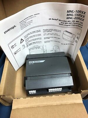 Invensys Mnl-10rs3 Ia Series Micronet Mnl 100