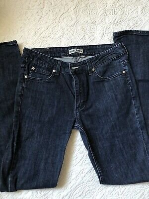 ACNE straight leg dark blue jeans 31