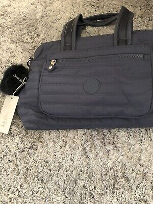 Kipling Utas Premium Medium Handbag Blue
