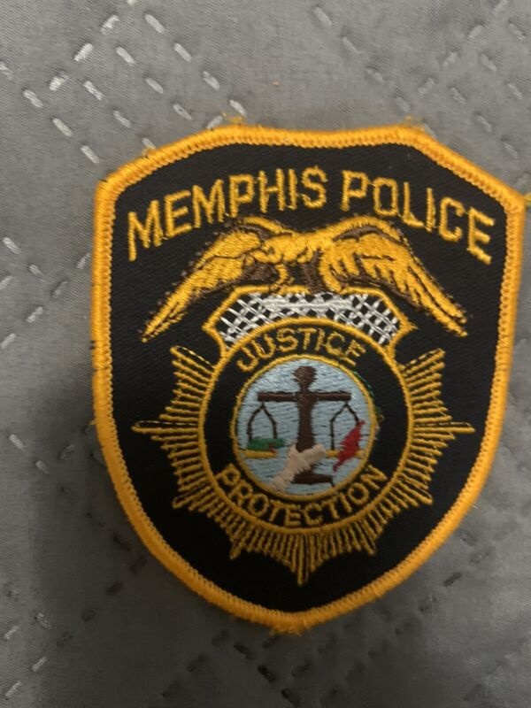 Obsolete Memphis Tennessee Police Patch