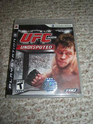 UFC Undisputed 2009 (Sony PlayStation 3, 2009) PS3 Video Game Wrestling PS3 Gift comprar usado  Enviando para Brazil