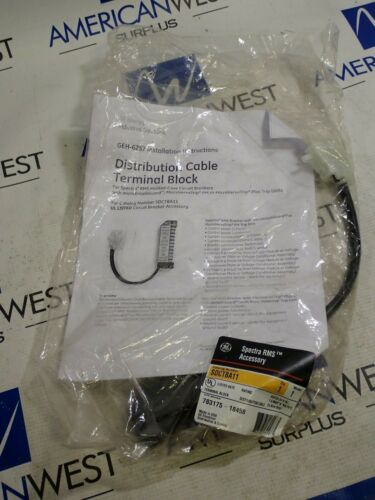 New GE General Electric SDCTBA11 Terminal Block Distribution Cable