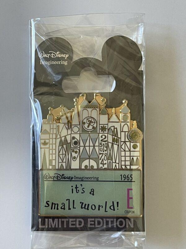 Disney WDI LE 300 E Ticket - It's a Small World Pin